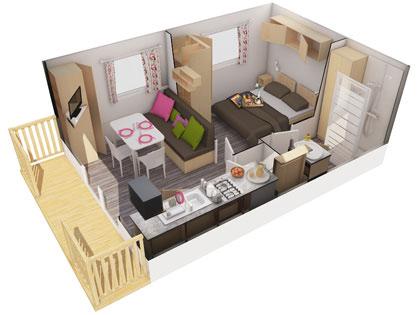 camping les bles d 39 or location chalets mobil home saint cast. Black Bedroom Furniture Sets. Home Design Ideas